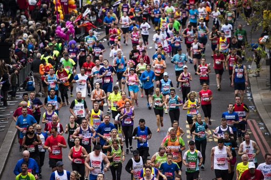In the US alone, more than 64 million people went running or jogging in 2016, according to recent figures. Picture: Shutterstock