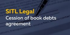 Cession of book debts agreement