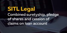 Combined suretyship, pledge of shares and cession of claims on loan account agreement