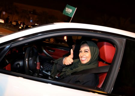 Saudi women finally start engines as driving ban ends