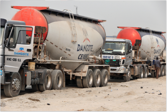 Stocks were dragged down by losses in the listed firm, Dangote Cement. Picture: Bloomberg