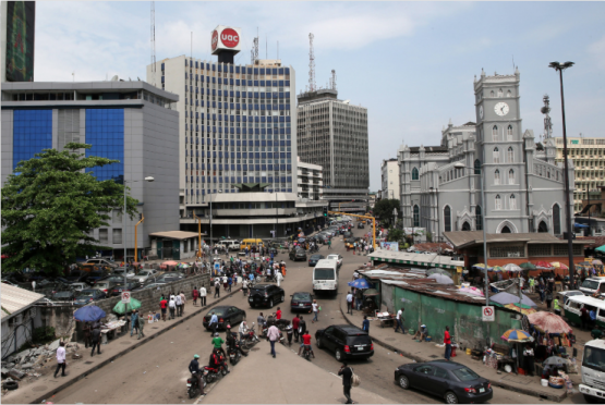 The UN estimates that most people in Nigeria survive on $2 a day. Picture: Bloomberg