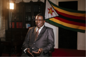 As Zimbabwe's economy crumbles, Mugabe's successor courts unrest