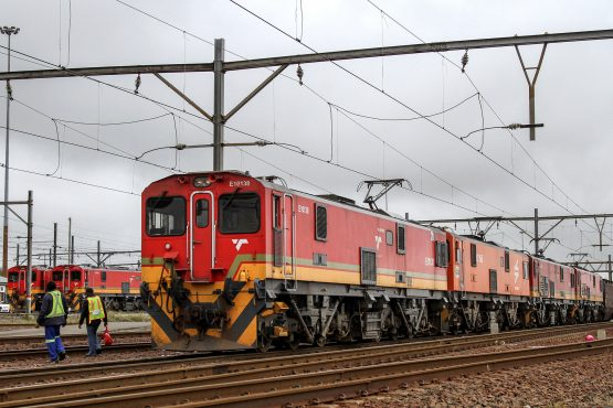 The railway line stretches up to 861 km from iron ore mines at Sishen in the Northern Cape to the Saldanha port in the Western Cape. Picture:Dean Hutton, Bloomberg