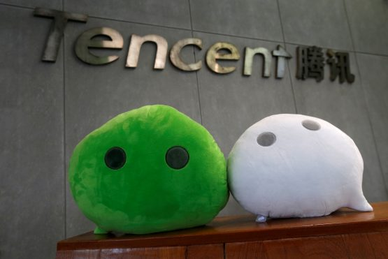 Tencent's profit falls after economic downturn depressed advertising and prompted charges within its huge portfolio of investments. Image: Bobby Yip, Reuters