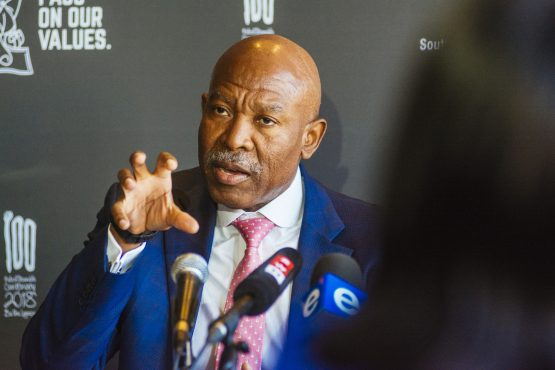 Sarb governor, Lesetja Kganyago, affirms the central bank's mandate amid ANC infighting. Picture: Waldo Swiegers, Bloomberg