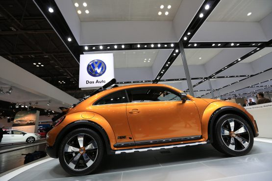 A VW Beetle Dune concept automobile, manufactured by Volkswagen AG. Picture: Krisztian Bocsi/Bloomberg