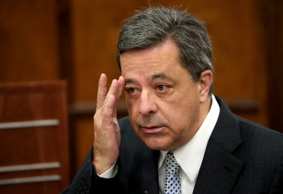 Steinhoff's former CE, Markus Jooste appeared in parliament to face a panel investigating an accounting scandal that rocked the retailer. Picture: Mike Hutchings, Reuters