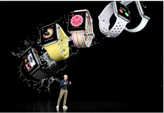 Apple could grab investors' attention with a broader range of medical grade wearables from hearing aids to an integration of blood pressure, glucose or sleep monitoring into the Apple Watch. Picture: Bloomberg