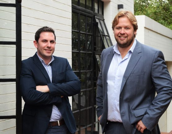 Founders Harry Hattingh (left) and Marcél du Toit. Picture: Supplied