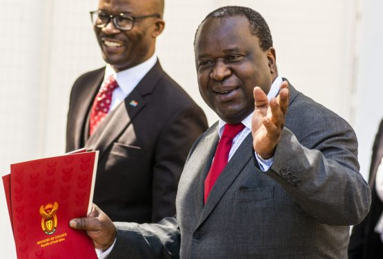 President Cyril Ramaphosa and finance minister Tito Mboweni (pictured) appear to be on the same page when it comes to growing the economy. Picture: Waldo Swiegers/Bloomberg