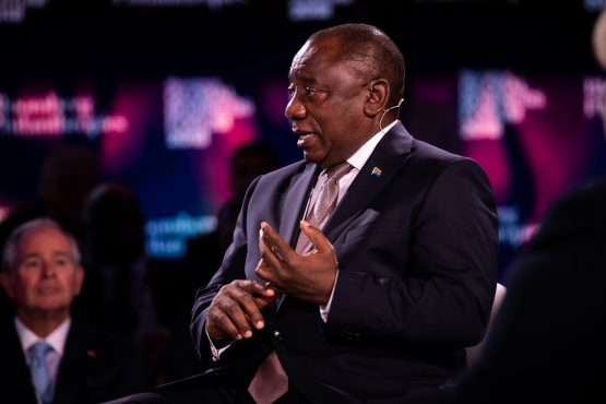 A panel appointed by President Cyril Ramaphosa on Wednesday began interviewing 11 contenders to head the National Prosecuting Authority. Picture: Mark Kauzlarich, Bloomberg