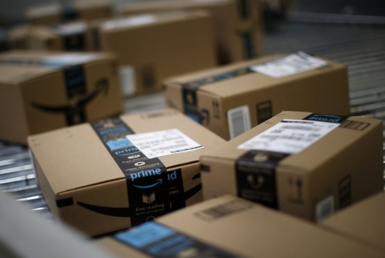 Executives at Amazon said they see potential for advertising across the entire web, including Whole Foods Market stores, and even on their ubiquitous delivery boxes. Picture: Jim Young, Bloomberg