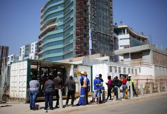 The RMB business confidence index was flat at 28 points in the second quarter, remaining far below the 50-mark separating the net positive and negative territories. Picture: Siphiwe Sibeko, Reuters