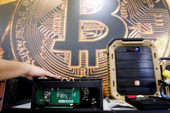Bitcoin goes ballistic. Image: Reuters