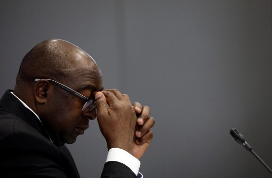 Finance minister Nene has reportedly asked President Ramaphosa to relieve him of his duties. Picture: Siphiwe Sibeko, Reuters