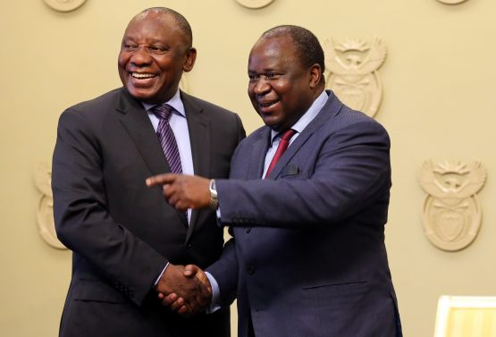 Ramphosa and Mboweni (pictured), together with Sarb governor Kganyago, will need to be steadfast as they address the costs of years of economic negligence and idiocy. Picture: Sumaya Hisham, Reuters