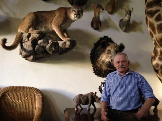 Holger Jensen of Jensen Safaris at his guest house in Pretoria. Picture: Supplied