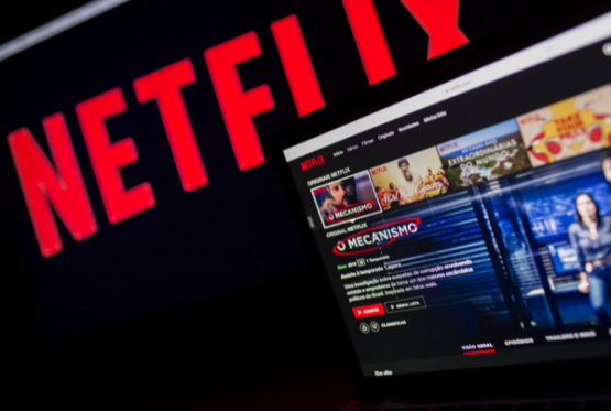 Netflix is up more than 40% since December 24. Picture: Shutterstock