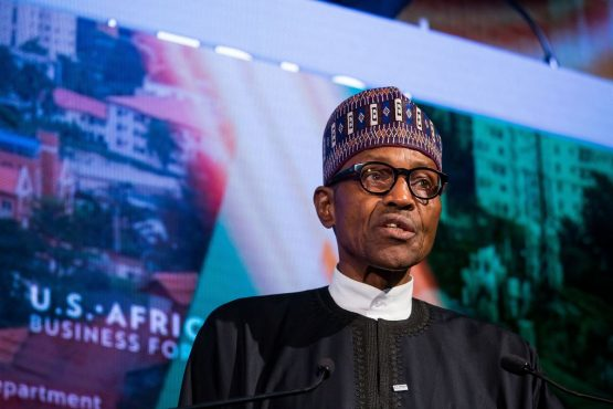 The AfCFTA agreement will only succeed if the continent develops policies that promote production, Nigerian president Muhammadu Buhari says. Picture: Michael Nagle, Bloomberg
