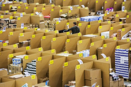 The strike is scheduled for the first day of Amazon's Prime day, an event which began five years ago and gives discounts on televisions, toys and clothes to attract and retain Prime members. Picture: Martin Leissl, Bloomberg