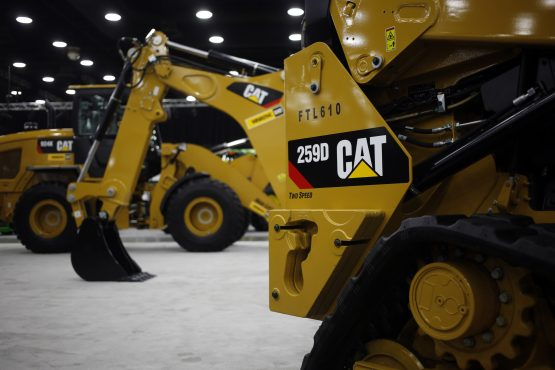 Caterpillar, AT&T fall after Q1 results. Picture: Bloomberg
