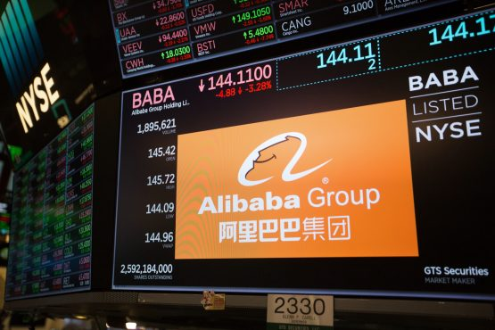 Alibaba's full-year revenue rose 51% to 376.8bnn yuan, toward the bottom of its forecast range of 375-383bn yuan. Picture: Michael Nagle, Bloomberg