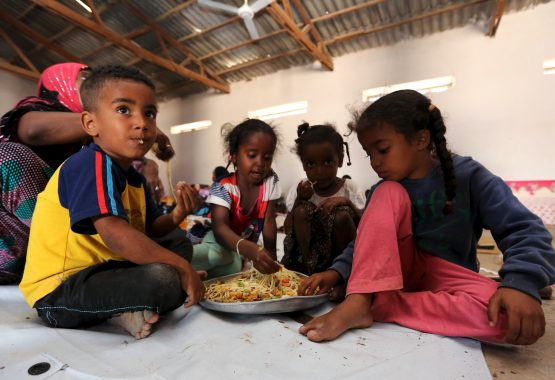This is the third year running where the number of people in food crisis hit more than 100m. Picture: Reuters