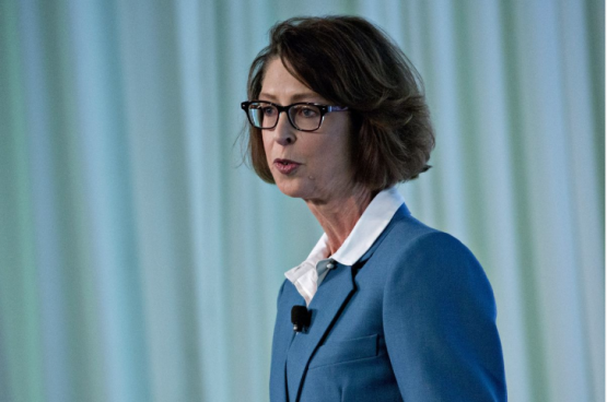 Abby Johnson prepares Fidelity for a $22trn shift to women. Picture: Bloomberg