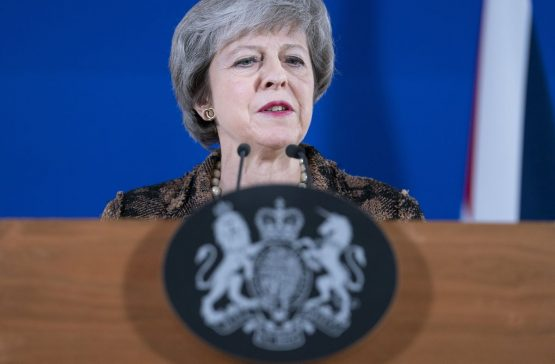 Theresa May. Picture: Bloomberg