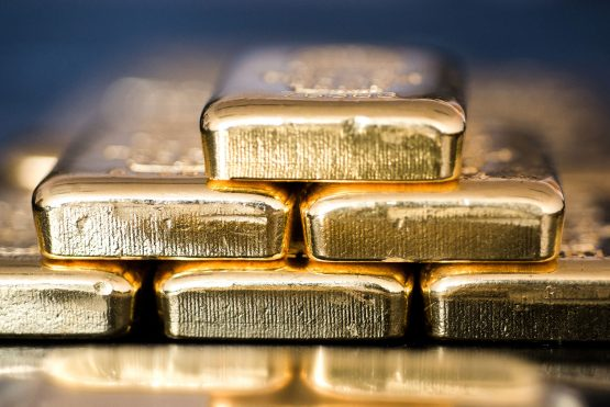 With gold set for its best monthly gain in almost two years, and holdings in gold-backed exchange-traded funds up, could South African gold mining stocks be about to enjoy a comeback? Photograph: Bloomberg Creative Photos/Bloomberg