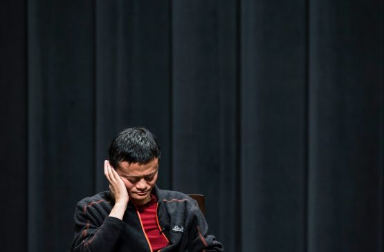 Jack Ma's exit comes as Alibaba has grown to become Asia's most valuable listed company, with a market capitalisation of $460bn. Image: Bloomberg