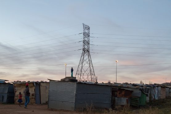 While poor councils in rural areas that can't pay Eskom are cut off regularly, Soweto isn't – and the only explanation can be political. Picture: Bloomberg