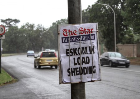 Eskom announces load shedding