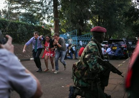 Workers in Kenya capital still trapped after militant attack