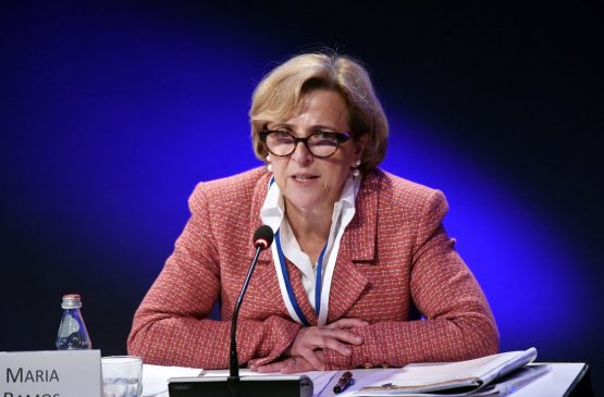 Maria Ramos, former CEO of Absa Group, retired in February. Picture: Bloomberg