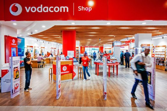 Vodacom, which competes with MTN group and Telkom , said group service revenue jumped 5%, led by a strong performance overseas. Picture: Waldo Swiegers, Bloomberg