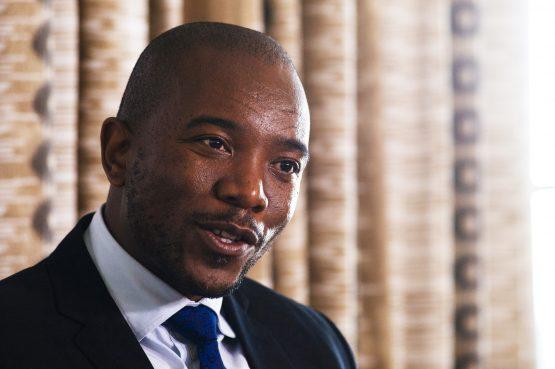 Mmusi Maimane, head of the DA. Picture: Waldo Swiegers/Bloomberg