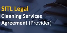 Cleaning Services Agreement (Provider)
