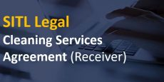 Cleaning Services Agreement (Receiver)