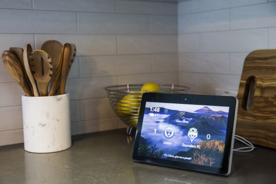 Amazon and Google say they collect the data to make it easier for people to manage their home electronics. Picture: Andrew Burton, Bloomberg