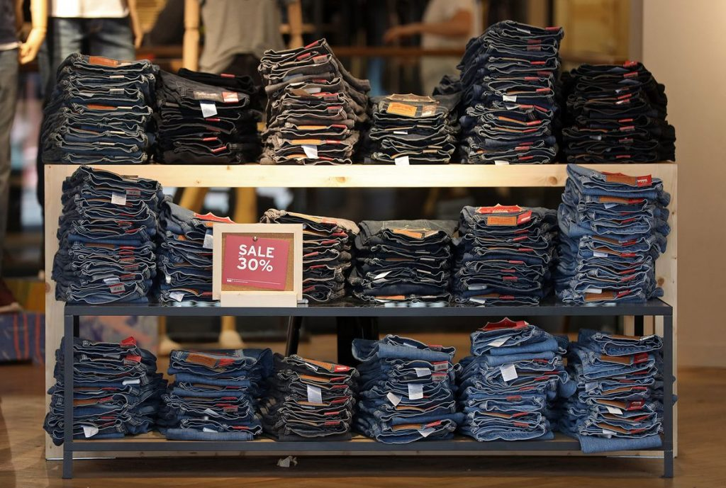 Levi's surges in return to market in year's top US IPO