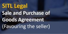 Sale and Purchase of Goods Agreement (Favouring the seller)