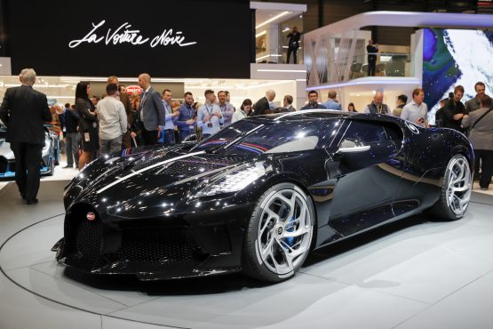 Bugatti unveils most expensive new auto ever at $12.5 million