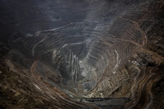 The Codelco Chuquicamata open pit copper mine stands near Calama, Chile. Picture: Bloomberg