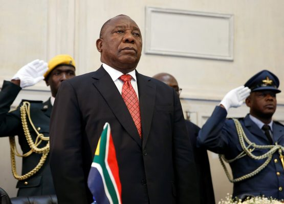 President Cyril Ramaphosa has promised to root out corruption. Picture: Reuters