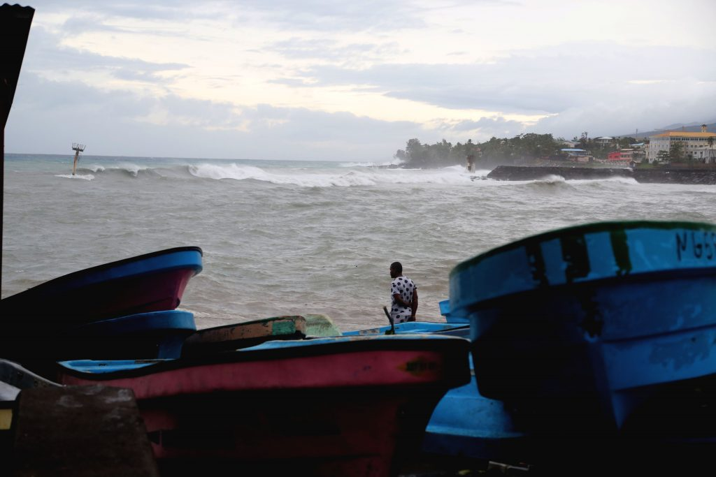 Cyclone Kenneth strengthens as it bears down on Mozambique