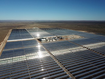 The solar field. Picture: Supplied