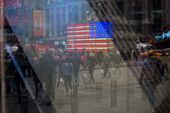 A disconnect between the growth in financial market size over the past decade and the capacity of banks to take on risk could exacerbate any sell-offs, says Morgan Stanley. Picture: Michael Nagle, Bloomberg