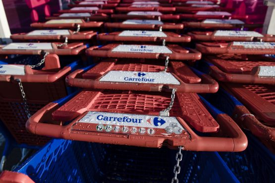 Carrefour has seven outlets in Kenya's capital Nairobi, with two more planned this year and is currently ranked third with a 22% market share. Picture: Marlene Awaad, Bloomberg
